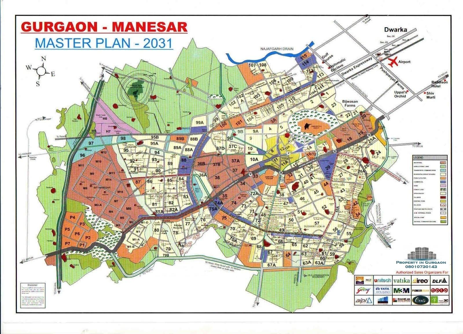 Gurgaon Sector Maps |Gurgaon Map| Huda Sector Plan | Gurgaon Master plan 2031 | Gurgaon Sector Plan 2031 | Gurgaon Property Map | Gurugram Map | Gurugram Master Plan 2031