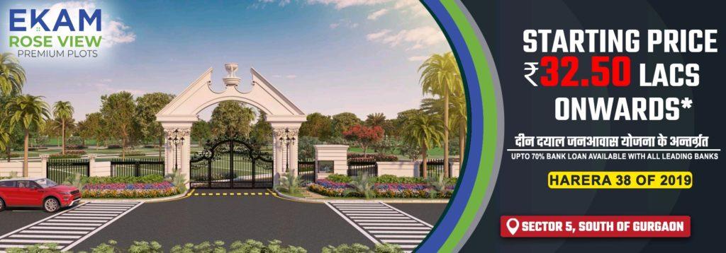 Paras Ekam Roseview Affordable Plots Sohna Gurgaon